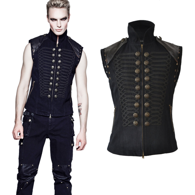 Uniform-Weste Tyrion im Gothic- / Steampunk Look