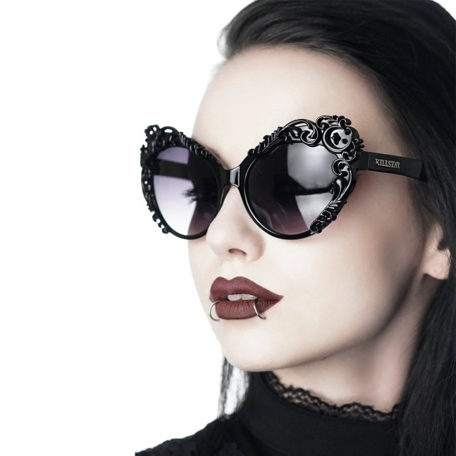 KILLSTAR Enchantra Gothic-Sonnenbrille im Vintage-/Pin Up...