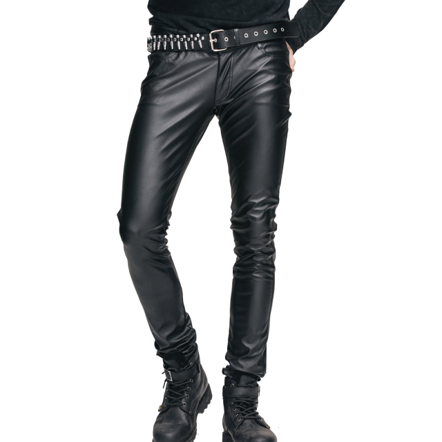 Devil Fashion hautenge Wetlook Hose PT022 für Herren im...