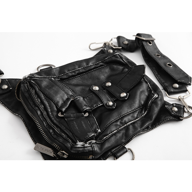 Variable Hüft-Tasche Dark Mission von PUNK RAVE